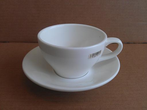 空白咖啡低杯240cc