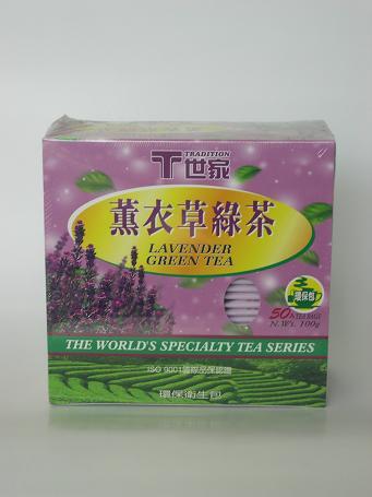 薰衣草綠茶 2g50入12盒 T世家