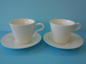 義式造型咖啡杯/彎把