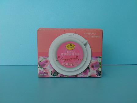 玫瑰花茶2g 15包-曼寧