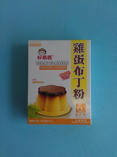 雞蛋布丁粉(105g 1包入)