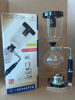 TCA-5 全組12入-咖啡專業器材-虹吸式咖啡壺及配件
