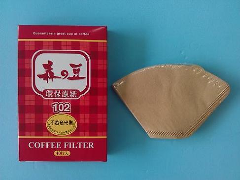 濾紙102中 2-4杯-咖啡專業器材-咖啡濾杯濾紙及濾布