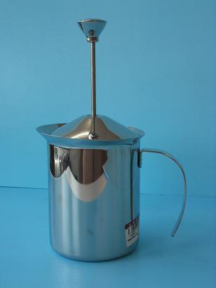 雙層(彈簧)奶泡杯 400ml-M