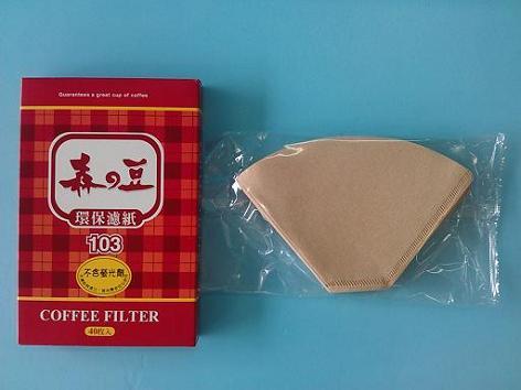 濾紙103大 5-8杯-咖啡專業器材-咖啡濾杯濾紙及濾布