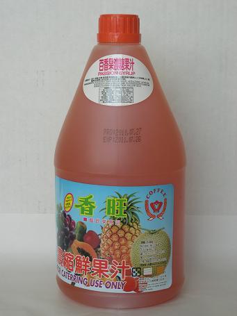 百香果汁2.5L-咖啡周邊商品-濃縮果汁系列