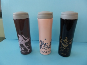 保溫瓶 香榭大道(紫)380ml-飲品周邊器具-保溫瓶