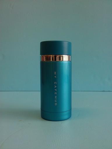 炫彩隨手杯 藍 200ml-飲品周邊器具-保溫瓶
