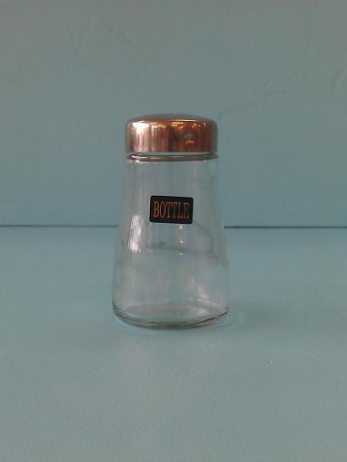 可可粉罐 玻璃-飲品周邊器具-其他器具