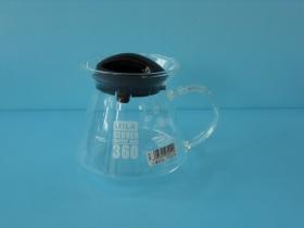 微波花茶壺360ml 黑蓋-飲品周邊器具-花茶壺