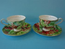 盛夏葡萄2客咖啡杯-咖啡專業器材-咖啡杯系列