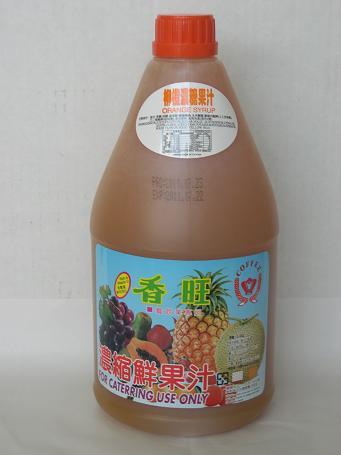 柳橙汁2.5L-咖啡周邊商品-濃縮果汁系列