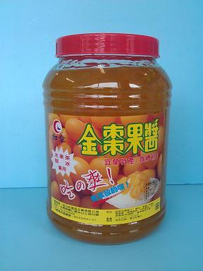 金桔果醬3.5KG刨