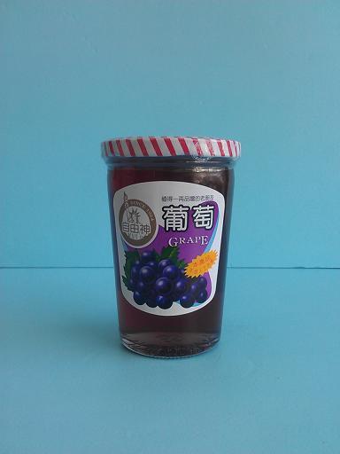 葡萄醬(玻離)自由-咖啡周邊商品-手工餅及果醬及意麵