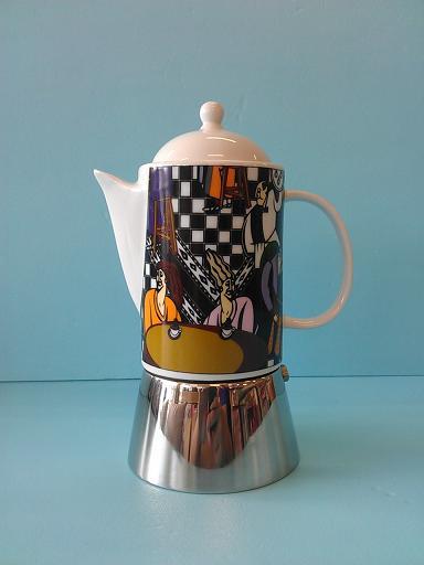 陶瓷摩卡壺602C 咖啡廳-咖啡專業器材-摩卡壺及配件