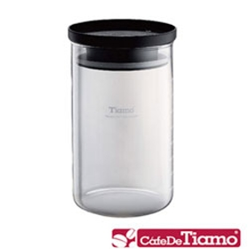 玻璃儲豆罐800ml