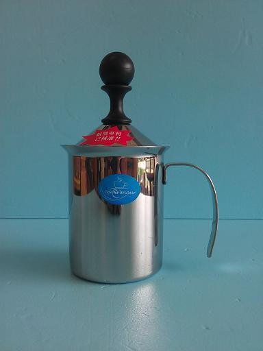 雙層網奶泡壺200ml Amour