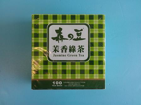 茉香綠小茶包(森)2g*100入-茶飲系列-茶包系列