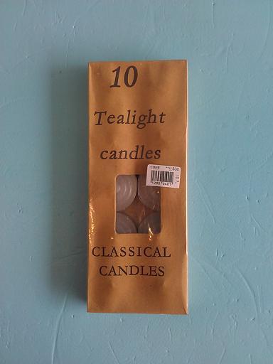 蠟燭10入(白)