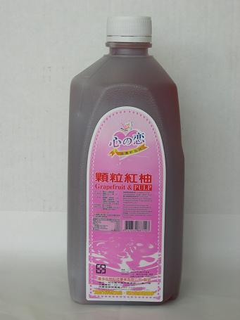 顆粒紅葡萄柚汁(奇豆)