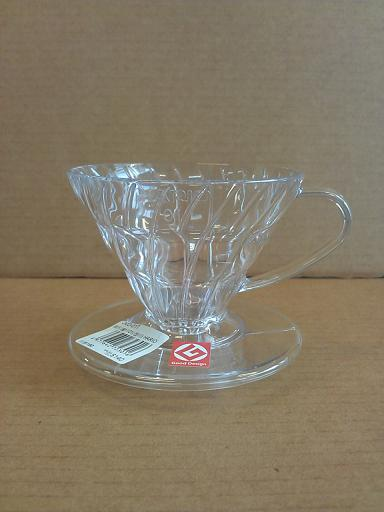 錐形濾杯01(透明) HARIO-咖啡專業器材-咖啡濾杯濾紙及濾布