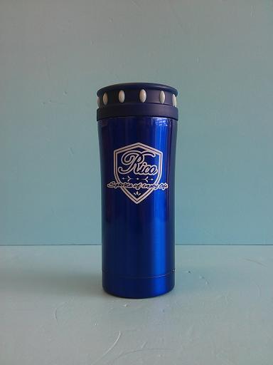 楓葉閃亮真空手拿杯 350ml 藍-飲品周邊器具-保溫瓶