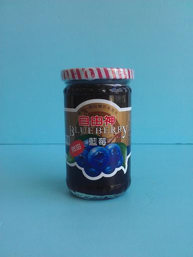 藍莓果醬 玻璃罐400g-咖啡周邊商品-手工餅及果醬及意麵