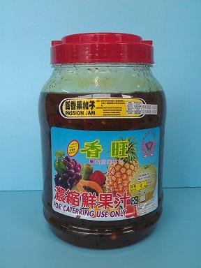 百香加子3.5KG刨-咖啡周邊商品-刨冰醬及桔醬及水果醬