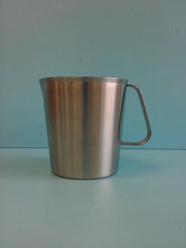 錐形不鏽鋼1.0L 內刻量杯-飲品周邊器具-其他器具
