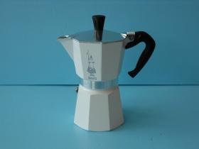 MOKA經典摩卡壺(白)6杯-咖啡專業器材-摩卡壺及配件