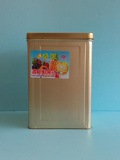 鳳梨切片刨冰醬 20KG-咖啡周邊商品-刨冰醬及桔醬及水果醬