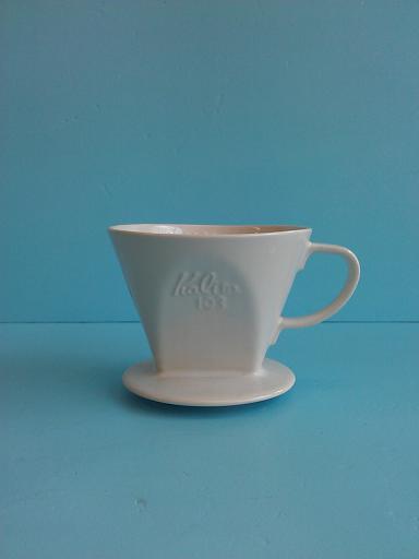 103陶濾杯 白PH-咖啡專業器材-咖啡濾杯濾紙及濾布