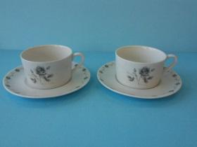 灰玫瑰咖啡杯/盤-咖啡專業器材-咖啡杯系列