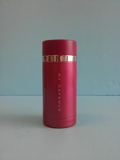 炫彩隨手杯 紅 200ml-飲品周邊器具-保溫瓶