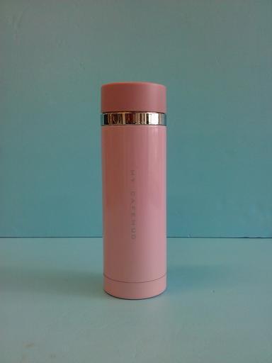 炫彩隨手杯 粉 300ml-飲品周邊器具-保溫瓶