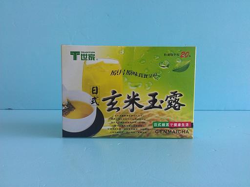 玄米玉露茶包2.8g*20入-茶飲系列-茶包系列