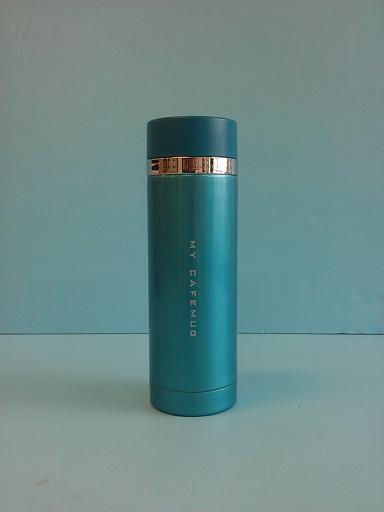 炫彩隨手杯 藍 300ml-飲品周邊器具-保溫瓶