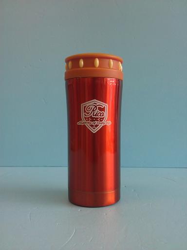 楓葉閃亮真空手拿杯 350ml 橙-飲品周邊器具-保溫瓶