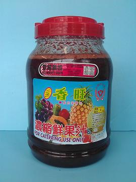 草莓顆粒3.5KG刨-咖啡周邊商品-刨冰醬及桔醬及水果醬