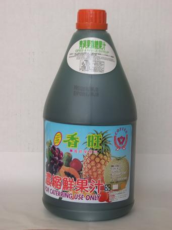 青蘋果汁2.5L-咖啡周邊商品-濃縮果汁系列