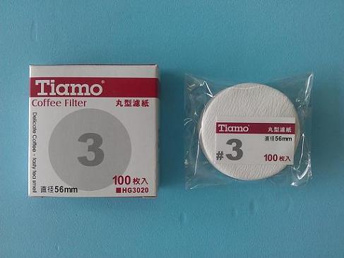 丸型濾紙#3-咖啡專業器材-咖啡濾杯濾紙及濾布