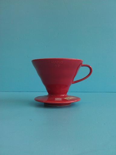 錐形(陶)濾杯02紅 HARIO