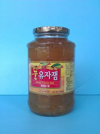 蜂蜜柚子茶1KG/大韓果軒